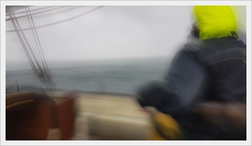 Thick weather aboard the Amelie Rose