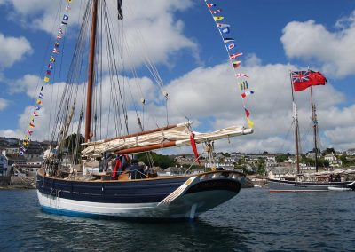 AR at St Mawes Pilot Cutters 1