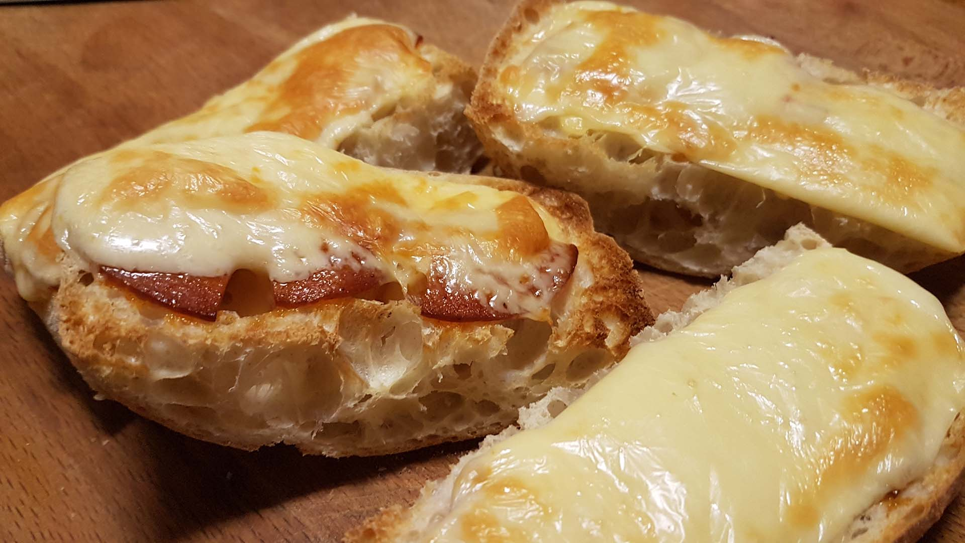 Amelie Rose's Ciabatta Pizzas