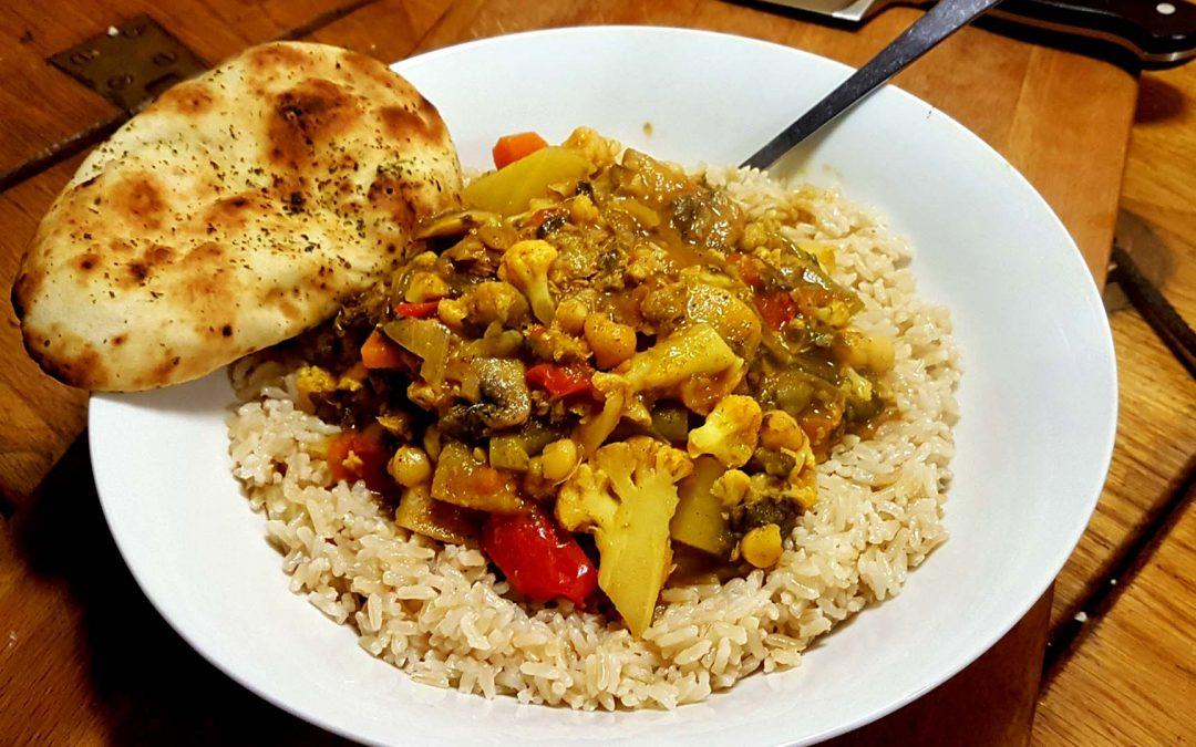 Amelie Rose's Quick Veggie Curry