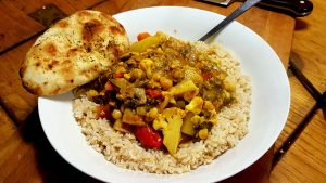 Amelie Rose's Quick Veggie Curry